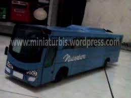 membuat miniatur mobil dari kardus agustus 2015 reza miniatur bis karton