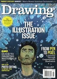 Magazine Usa Drawing Magazine Usa Summer Issue 2013 Yuko Shimizu