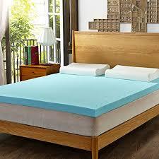 hofish 3 inch memory foam mattress topper full well rested