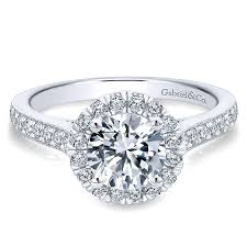 round setting rings images 14k white gold round diamond halo with channel setting 14k white jpg