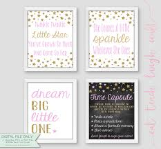 twinkle twinkle birthday pink gold 1st birthday twinkle twinkle theme set