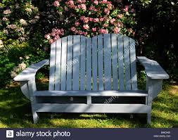 Rustic Wooden Garden Furniture Rustic White Wooden Wood Garden Seat Furniture Setaing Pink Stock