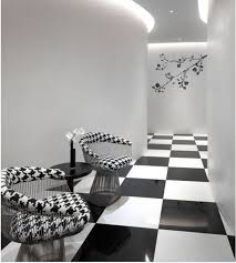 rooms with black and white tile floors thesouvlakihouse com