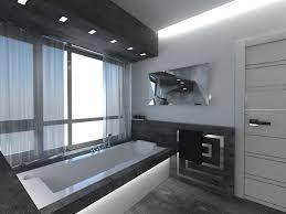 bathroom grey modern bathroom ideas modern double sink bathroom