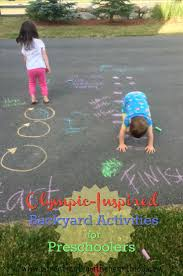 simple olympic activities for preschoolers olympics activities