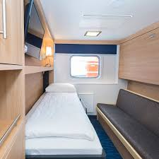 Cabin Beds With Sofa by Ms Polarlys Cruise Norway