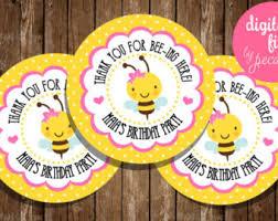 bumblebee party supplies bumblebee theme etsy