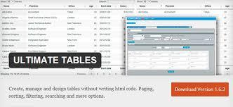 Wordpress Tables Top 10 Responsive Table Wordpress Plugins Small Biz Dailysmall