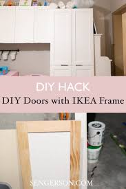 ikea kitchen cabinet frame diy custom cabinet fronts and doors tutorial for ikea