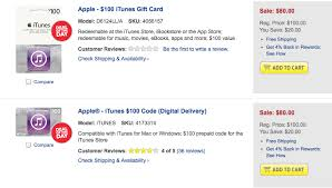 buy gift cards at a discount best buy offering 20 discount on itunes gift card today