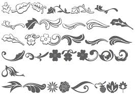 floral ornament clipart 48