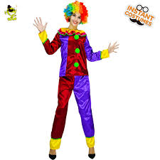 hilarious costumes woman clown costume carnival party colorful