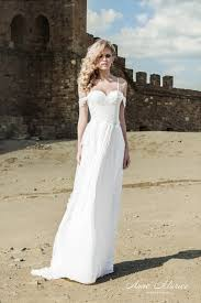 turmec off shoulder casual beach wedding dresses