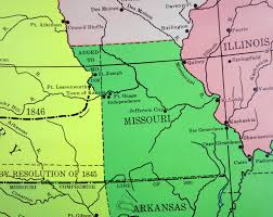 Cairo Illinois Map by The United States And Territories In 1850 Us Topo If Every Us