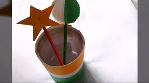 tricolour flag crafts for kids republic day crafts independence