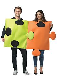 couples costume puzzle pieces costume for couples