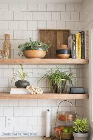 diy open kitchen shelving szfpbgj com