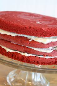 the red feedsack for the love of red velvet cake that is