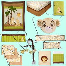 Lion King Crib Bedding The Lion King Jungle Nursery Bedding Ebay