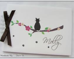 cat photo album cat photo album etsy