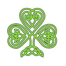 clipartist net clip art celtic shamrock flower treehugger