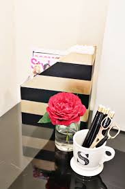 Diy Office Decorating Ideas Office Fridiy Kate Spade Office Magazine Holders Style Me Samira