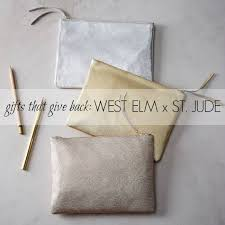 st jude gifts gifts that give back west elm x st jude something