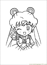 sailor moon coloring free sailoor moon coloring pages