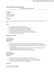 New Nurse Resume Examples by Er Nurse Job Description Resume U2013 Resume Examples