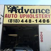 Van Nuys Upholstery Advance Auto Upholstery 18 Reviews Auto Repair 7008 Van Nuys
