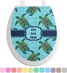 sea turtles toilet seat decal personalized potty training concepts