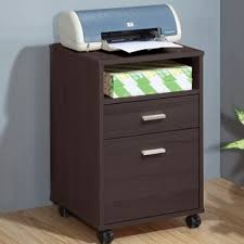 printer and file cabinet printer stand with file drawer wayfair