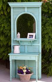 Upcycling Old Windows - 11 repurposed shutter crafts recycled craft ideas