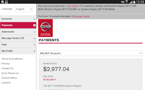 nissan finance online account ncf account manager android apps on google play