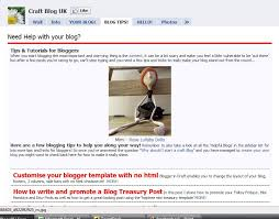 craft blog uk tips for selling craft online how to add pages to