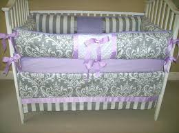 Grey And Yellow Crib Bedding Decoration Purple And Yellow Crib Bedding Image Of Grey Set