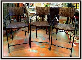 Pier One Bistro Table Backless Bar Stools Pier One Swivel Stool Director Chair