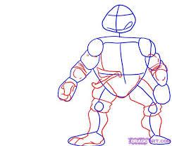 2 draw leonardo teenage mutant ninja turtles