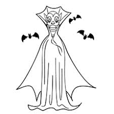 halloween vampire coloring pages top 25 free printable vampire coloring pages online
