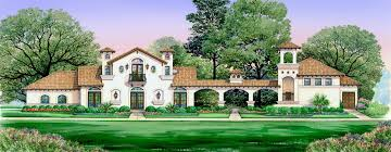 Spanish Villa House Plans Villa Di Vino Dallas Design Group
