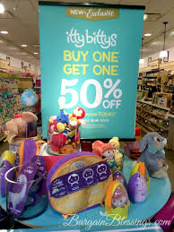 itty bittys buy one get one 50 sale and hallmark stores