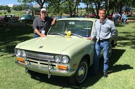 vintage datsun 1971 datsun 521 pickup takes home award at concours d u0027elegance of