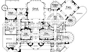 Mansion Plans The 23 Best Luxury Estate Floor Plans House Plans 61087