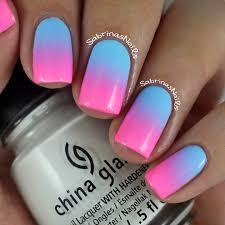 sabrinas nails cotton candy ombre nails
