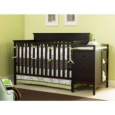 Convertible Crib And Changer Combo Graco Crib N Changer Combo Espr Walmart
