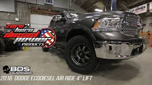 dodge ram 1500 air suspension the lift bds suspension 4 air ride ecodiesel lift kit