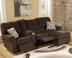 small sectional sofa with recliner small coffee leather reclining