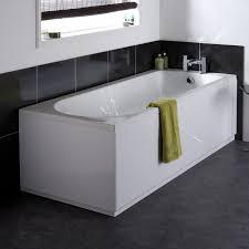 premier 1700mm high gloss white mdf front bath panel