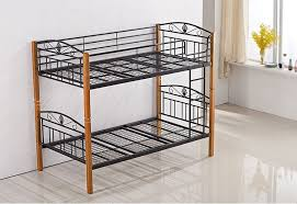 Timber Bunk Bed P1025a Metal Timber Single Bunk Bed Sydney Central Furniture