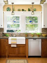 furniture in the kitchen decorating with oak cabinets